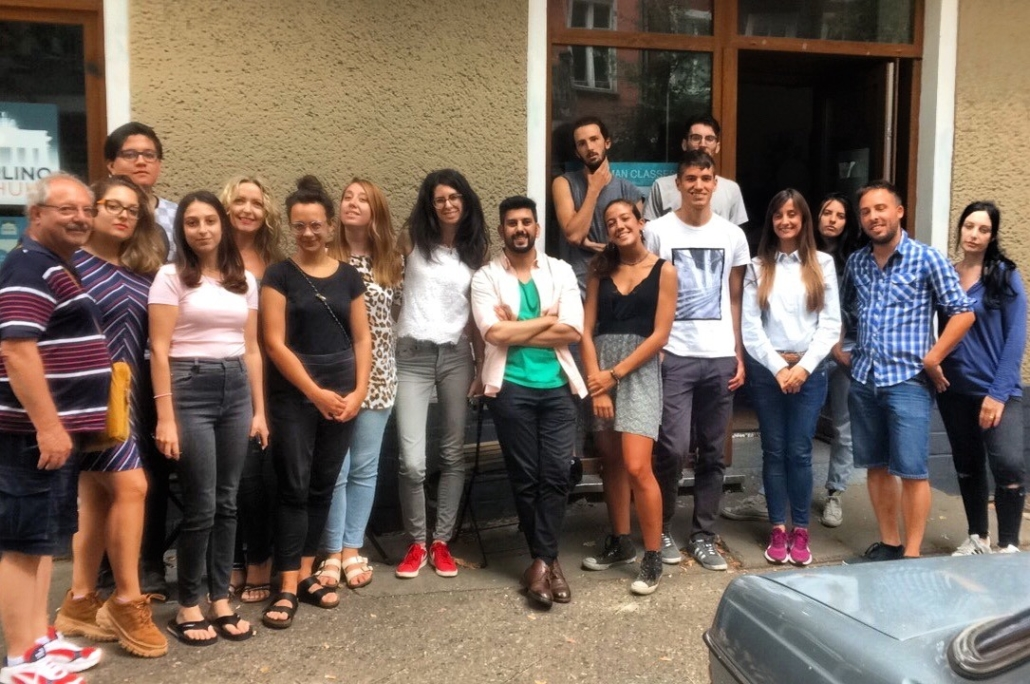 Berlino Schule students (Summer school 2019)