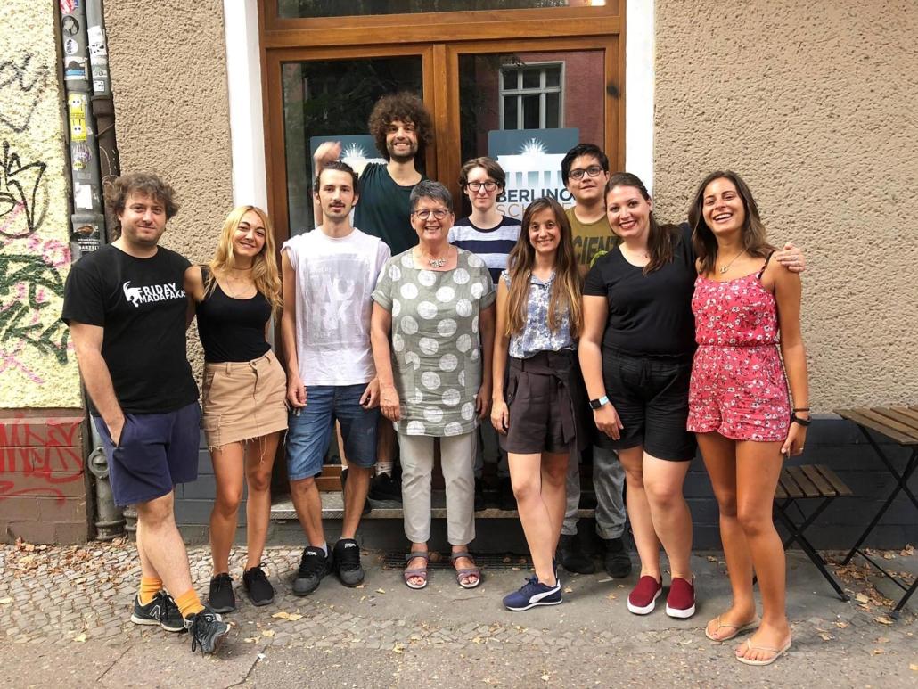 Berlino Schule students
